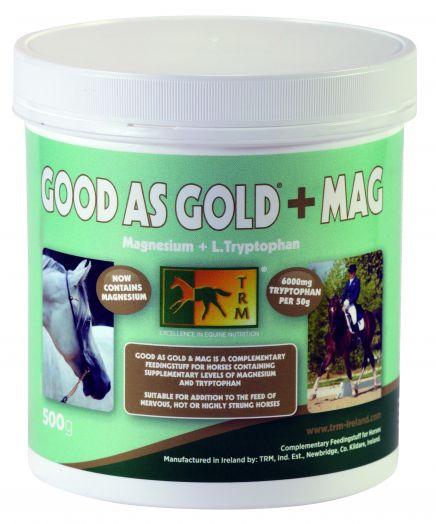 Good As Gold+MAG. TRM. Успокоительная добавка с триптофаном и магнием.