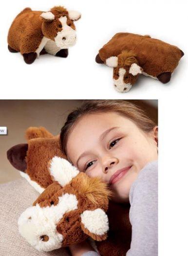Подушка в виде лошадки