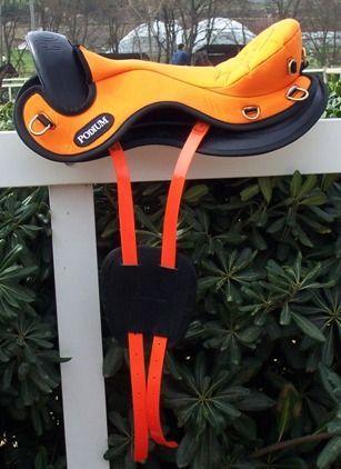 Седло Extra Light кондура/кожа для пробегов