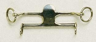Трензелька MC KERRON, 12 мм.