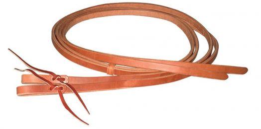 Поводья Вестерн раздельные. Berlin Custom Leather. Завязки