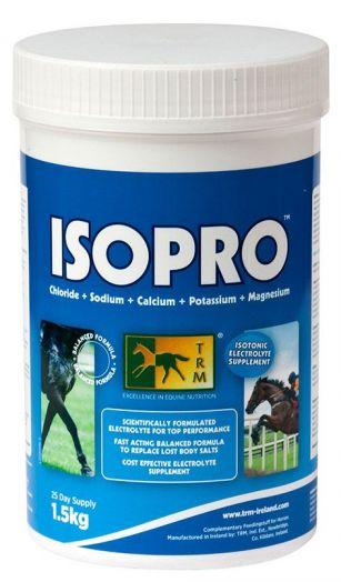 TRM ISOPRO 2000 изотонический электролит. Для лошадей, несущих спортивные нагрузки. 1,5 и 10 кг