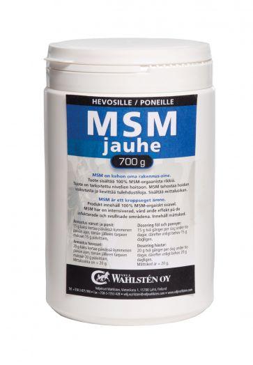Wahlsten МСМ Powder. Cера  Для мышц, копыт и суставов и сухожилий. 700 гр и 2 кг