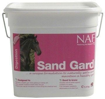 NAF Sand Gard подкормка против колик. С подорожником 1400 гр