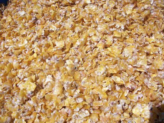 Микронизированные кукурузные хлопья 20 кг Вознесеновские корма
