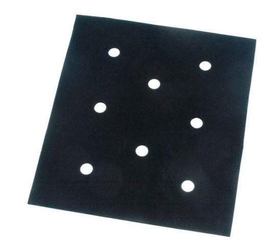 Противоскользящий коврик под седло, неопрен,толщина 4 мм, размер 44х54 см