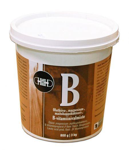 "Black Horse Витамин ""B"". Пивные дрожжи, магний и витамин ""В"". 700 гр и 3,5 кг"